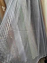 Тюль сетка Соты цвета в ассортименте , фото 2