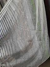 Тюль сетка Соты цвета в ассортименте , фото 3