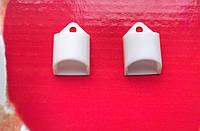 Комплект боковых заглушек для алюминиевого профиля ХН-065