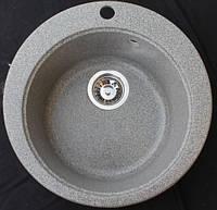 """Мойка кухонная из гранита KINGstone модель """"FIMA"""" d-470 мм"""