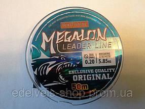 Леска рыболовная BratFishing Megalon Leader Line 50м  0.10-(1.40кг)