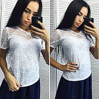 537ae41ba78 Блузку футболку гипюр оптом в Украине. Сравнить цены