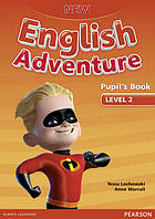New English Adventure. Level 2 Pupil's book+DVD