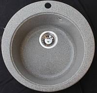 """Мойка кухонная из гранита KINGstone модель """"FIMA"""" d-510 мм"""