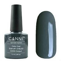 Гель-лак CANNI №133 (темный, сине-серый, эмаль), 7.3 мл