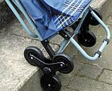 Сумка-візок зі стільцем (6 оборотних коліс), фото 4