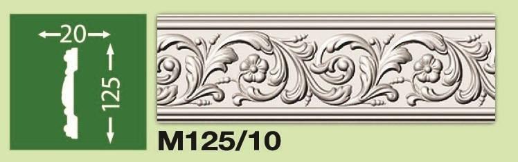 Плинтус потолочный М125/10, фото 2