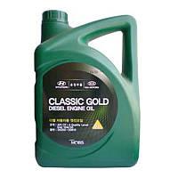 Масло двс 10w-30 6 л classic gold diesel п/с cf-4 (05200-00610) mobis (производство Hyundai-KIA ), код запчасти: 0520000610