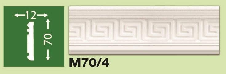 Плинтус потолочный М70/4, фото 2