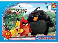 Пазлы Angry Birds 70 элементов G-Toys арт. B001027