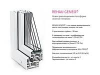 Окна и двери из профилей системы Rehau Geneo.