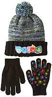 Комплект шапка и перчатки Inside Out Disney; универсальный размер