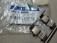 Пружина зад.тормоз (производство Hyundai-KIA ), код запчасти: 582464H000