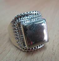 """Серебряное колечко с пиритом  """"Золото инков"""", размер 17,4  от студии LadyStyle.Biz"""