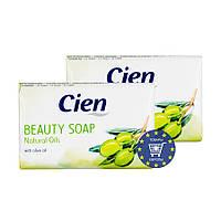 Твердое мыло с оливковым маслом Cien Beauty Soap Natural Oils 150 г