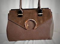Женская сумка Elev Eves бежевого цвета