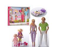 Кукла Принцесса Defa Lucy Счастливая семья Пикник, с аксессуарами
