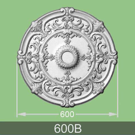 Потолочная розетка B-600-B, фото 2