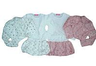 Утеплённый нарядный комплект для девочки, размеры 5/6 лет, F&D арт. 9347