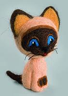 Набор для валяния игрушек В-141 Добрый котик