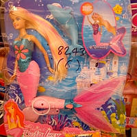 Детская кукла русалочка со светящим хвостом 8243