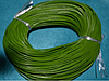 Шнур кожаный 20109 -1  зелёный  10 м