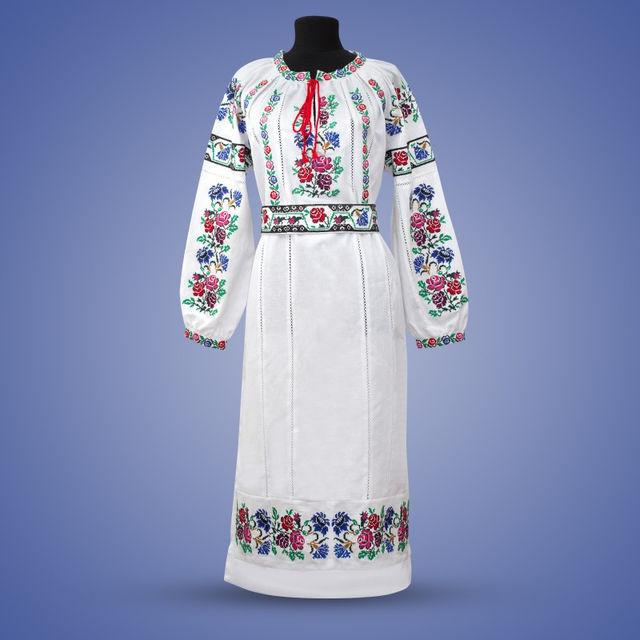 af3d808746d1338 Женское платье с вышивкой