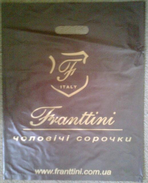 Пакеты полиэтиленовые с вырубной ручкой Franttini