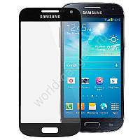 Стекло для Samsung i9190 Galaxy S4 mini (black) Original