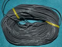 Шнур кожаный 20111  серый  95 м
