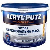 """Акриловая шпатлевка ТМ """"СНЕЖКА""""  Акрил -Путц Финиш - 27 кг."""