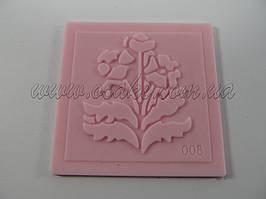 Коврик силиконовый букет 5 см