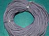 Шнур шкіряний 20114-1 світло-сірий 10 м