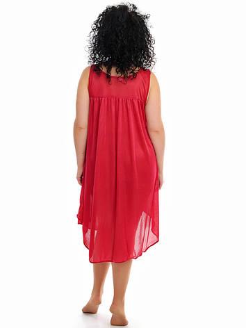 Женская ночная рубашка шелк, фото 2