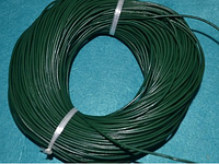 Шнур кожаный 20115 тёмно-зелёный   95 м