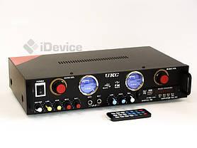 Стерео усилитель UKC KA-105F Karaoke USB/FM, фото 3