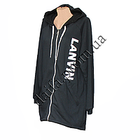 Женская трикотажная куртка (БАТАЛ) с начесом 76-9 оптом в Одессе