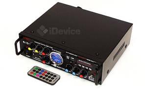 Стерео усилитель UKC AV-339A Karaoke USB/FM/SD, фото 3