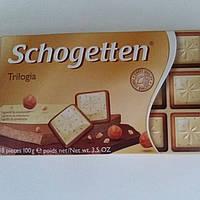 Шоколад Трилогия Schogetten Trilogia  Шогеттен 100г.