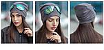 Женская модная шапка со съемными очками, фото 3