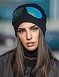 Женская модная шапка со съемными очками, фото 5