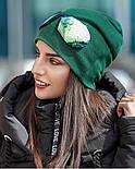 Женская модная шапка со съемными очками, фото 6