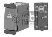 Перемикач аварійної сигналізації mercedes 123/190/126/107 (производство Febi ), код запчасти: 24199
