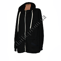 Женская трикотажная куртка (БАТАЛ) с начесом 80-3 оптом в Одессе