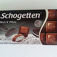 Шоколад Молочный Schogetten Black and White  Шогеттен 100г.