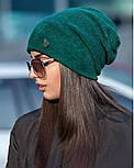 Женская стильная шапка из ангоры (3 цвета), фото 2