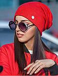 Женская стильная шапка из ангоры (3 цвета), фото 3