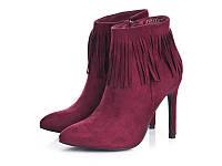 Ботинки женские на осень, замшевые ! размер 40,41