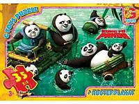 Пазлы Панда Кунг-Фу 35 элементов G-Toys арт. PA003