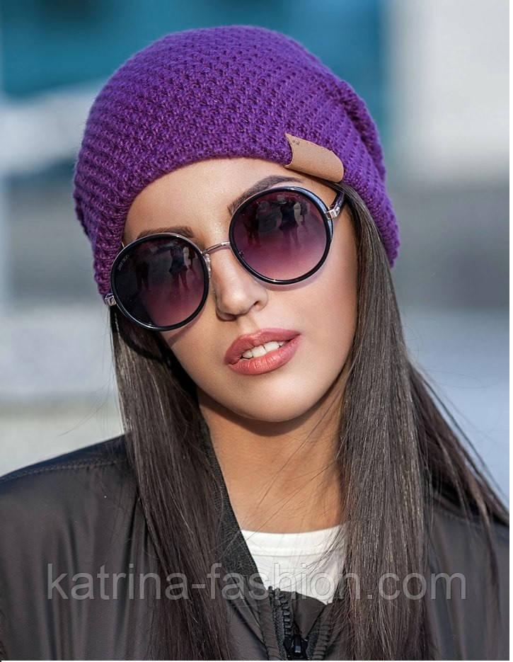 Женская модная вязанная шапка (3 цвета)